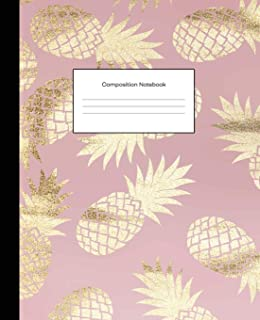 pineapple composition notebook