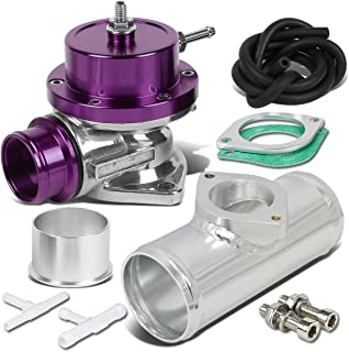 Type-S Style Universal 40mm Turbo Blow Off Valve+2.5 inches Flange Pipe - Purple