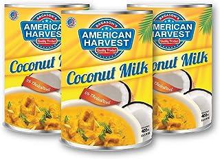 American Harvest Coconut Milk 400 ml, Pack Of 3