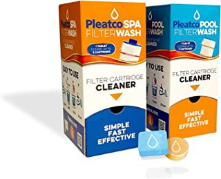 SPA FILTER WASH - Hot Tub Filter Cartridge Cleaner Tablet by Pleatco (6)