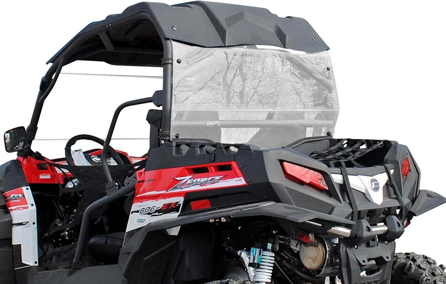 SuperATV Heavy-Duty Rear OFFicial site Limited Special Price Windshield CFMOTO ZForce 2014-2017 for