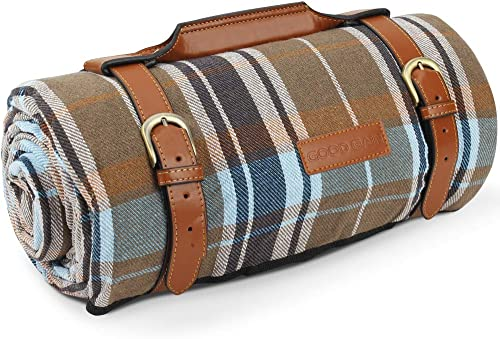 G GOOD GAIN Extra Large Picnic Blanket Waterproof for Outdoor Camping,Acrylic Picnic Rug with Waterproof and Sandproo...