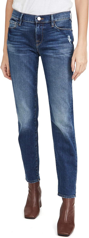 FRAME Women's Le Garcon Jeans