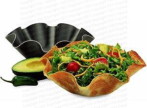 Perfect Bake & Serve Tortilla Bowl Pan 6pc Set