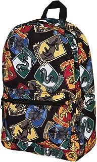 Hogwarts House Crests All Over Print Laptop Backpack