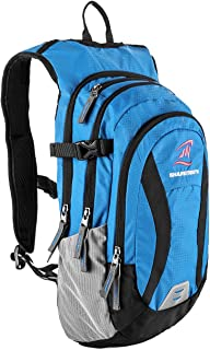 SHARKMOUTH Hiking Hydration Backpack Pack with 2.5L BPA Free Water Bladder, Roomy and Comfortable for Long Day Hikes, Day ...