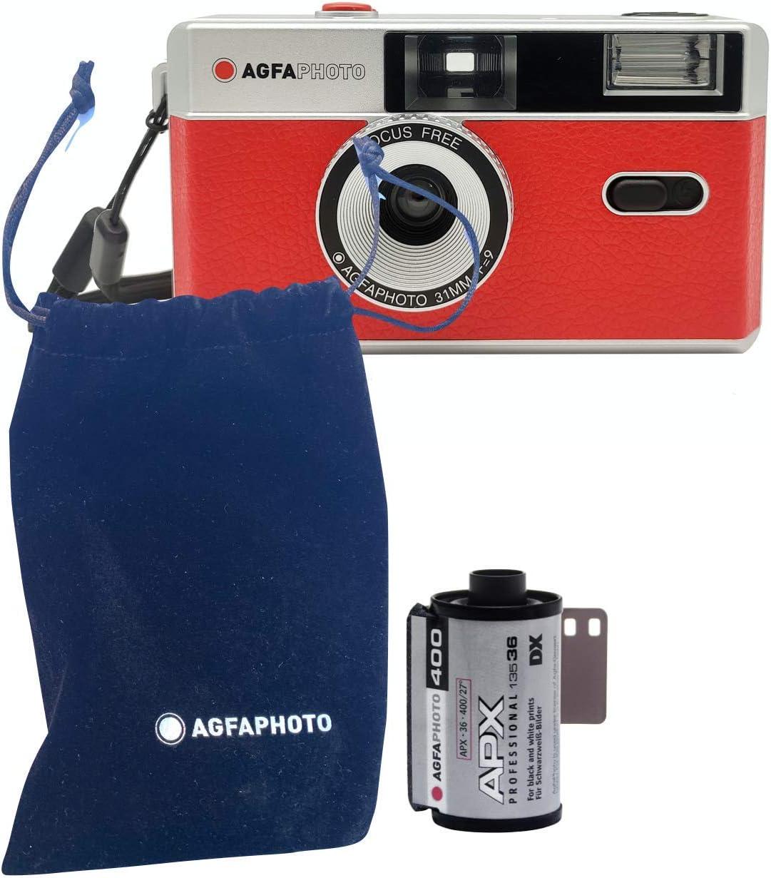 Agfaphoto 35mm Analoge Fotokamera Black Kamera