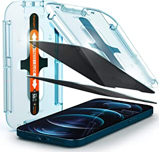 Spigen iPhone 12 Pro Max Privacy Glass Screen Protector - 2 Pack