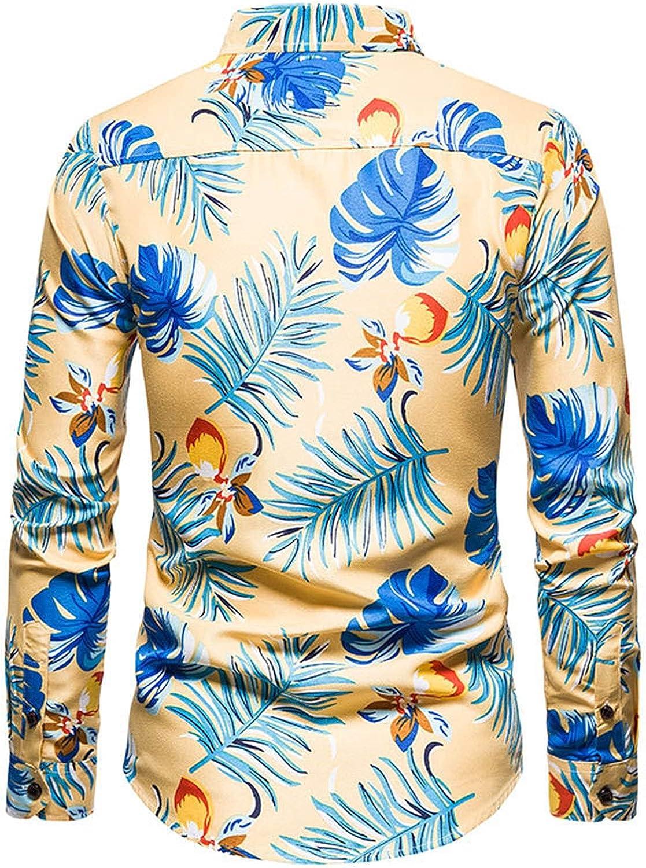Men's Long Sleeve Dress Shirt Slim Fit Casual Business Formal Button Up Shirts Mens Business Dress Shirt Button Shirt