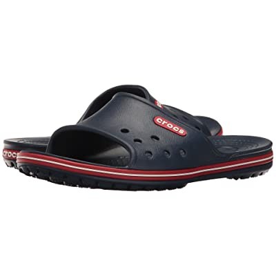 Crocs Crocband II Slide (Navy/Pepper) Slide Shoes