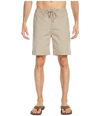 Prana Bay Ridge Shorts (Dark Khaki) Men