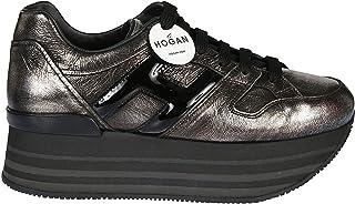 calidad oficial Hogan Mujer HXW2830T548JD81642 Plata Cuero Cuero Cuero Zapatos  venta con descuento