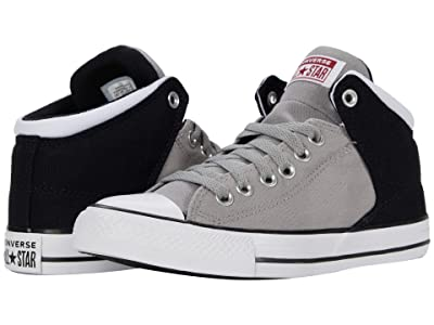 Converse Chuck Taylor All Star High Street Mid (Dolphin/Black/White) Athletic Shoes