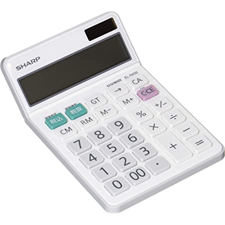 シャープ ナイスサイズタイプ 12桁 EL-N432-X