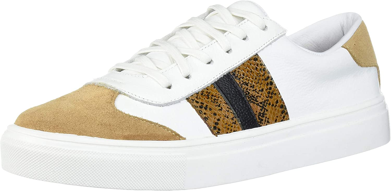 KAANAS Women's Barbera Lace Up Leather Fashion Sneaker