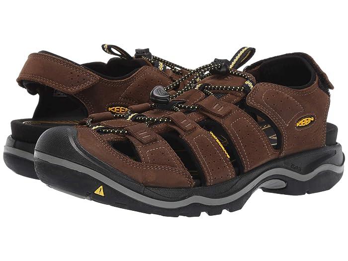 Keen Rialto II (Bison/Black) Men's Shoes