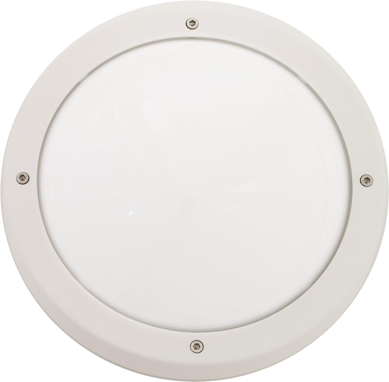 SG-Leuchten Primo E27 CFL, wei opal 611570