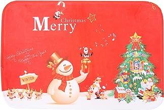 GARNECK Capacho de porta de Natal Feliz Natal Capacho para entrada ao ar livre Capacho de boas-vindas de Natal Capacho de ...