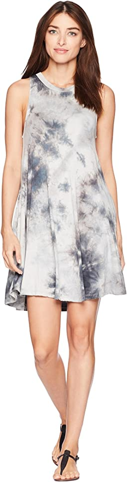 Julianne Sleeveless Tie-Dye Dress