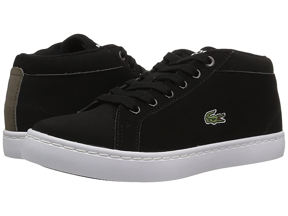 Lacoste Kids Straightset Chukka 417 1 (Little Kid) (Black) Kid