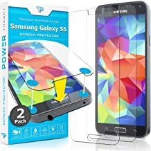 Power Theory Protector de Pantalla Galaxy S5 Cristal Templado Premium [2-Unidades]