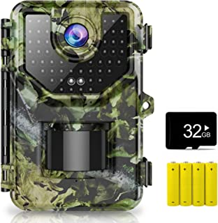 1080P 16MP Trail Camera, Hunting Camera with...