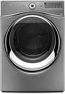 Whirlpool WED94HEAC Duet 7.4 Cu. Ft. Gray Stackable With Steam Cycle Electric Front Load Dryer