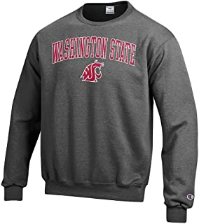Elite Fan Shop NCAA Men's Crewneck Charcoal Gray Sweatshirt