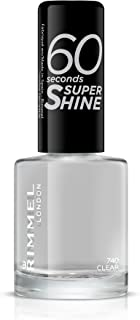 Rimmel London 60 Seconds Super Shine Esmalte de Uñas Tono 740 Clear 8 ml