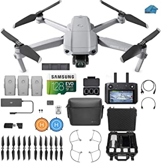 DJI Mavic Air 2 Fly More Combo with DJI Smart Controller - Drone Quadcopter UAV with 48MP Camera, 3 batteries, Case, 128gb...