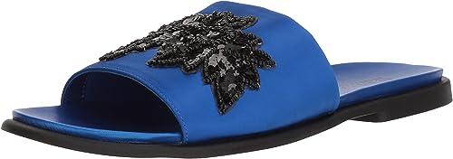 Kenneth Cole REACTION Wohommes Wohommes Jel-OUS Embellished Slip On Slide Sandal, Cobalt, 9.5 M US  articles de nouveauté