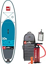 2017 Red Paddle Co 10'6 Ride Inflatable Stand Up Paddle Board + Bag, Pump, Paddle & LEASH