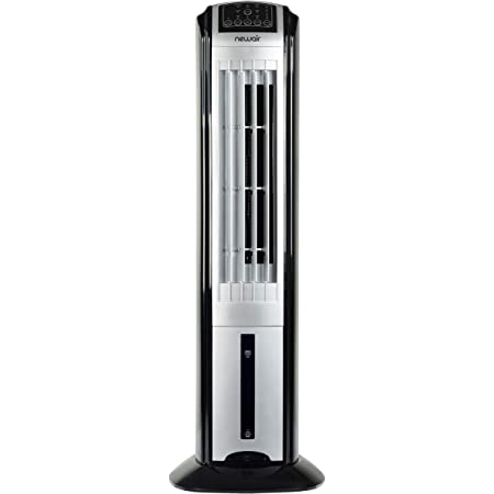 Evaporative Cooler 40 Inch Portable Oscillating Tower Fan For Big Space 3 Speeds 3 Wind Types 70 Oscillating Fan W 2 Freezing Boxs 8h Timer Safe Quiet Room Cooler Humidifier