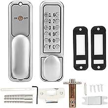 Precisie deurslot Zinklegering Mechanische Digitale Deurslot Set Waterdichte Keyless Entry Home Office Safety Deur Keypad ...