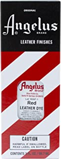 Angelus Leather Dye (Red),3 Ounces