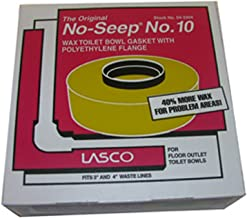 LASCO 04-3304 Harvey's BOL 10 Extra Thick Wax Ring with Sleeve, for Use with 3 in, 4 in Waste Lines, 1-Pack