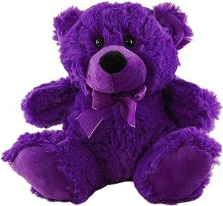 Elka Australia 76201-23PP Jelly Teddy Bear Soft Plush Toy, Purple, 23 Centimeters