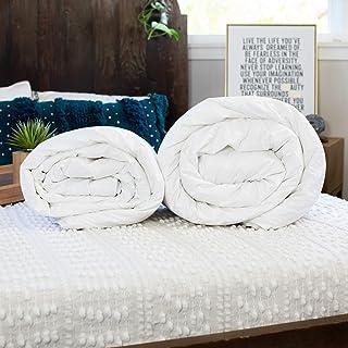 Silk Bedding Direct Deux Couettes en Soie. Luxe, Finitions Mains. Soie de Mûrier Longues Fibres. ÉTÉ ET Printemps/Automne....