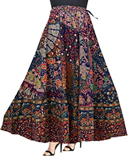 Trendy Fab Modern Women's Cotton Skirt (SK33, Multicolour, Free Size)