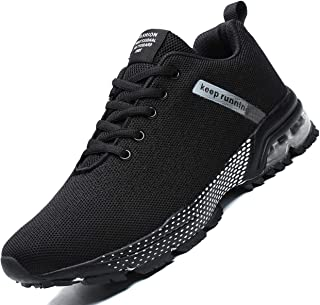 Mens Running Shoes Fashion Breathable Air Cushion Sneakers Lightweight Tennis Sport Casual Walking Athletic for Men Outdoor Jogging Shoes