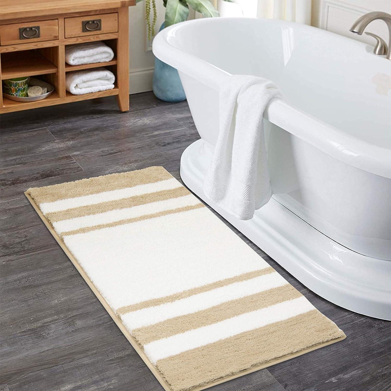 HiiARug Microfiber San Francisco Mall Bath Rugs Mats for Large-scale sale 20