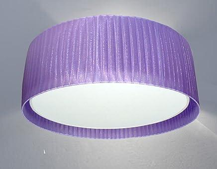 idea hogar Dimetro 55cm Idea Hogar Pantalla Lampara Cono Truncado