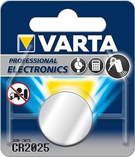 Varta Battery, Lithium CR2025 Pkg of 10