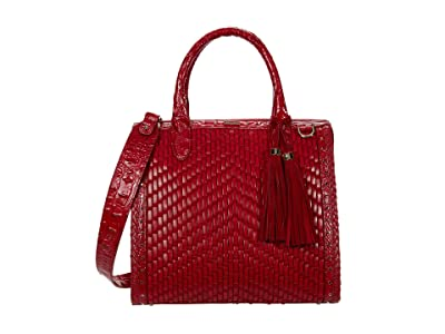 Brahmin Eldorado Caroline Satchel (Ember) Handbags