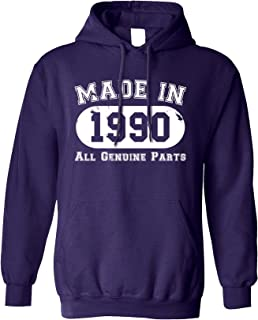 Made in 1989 - All Original Parts - 30th Birthday Hoodie