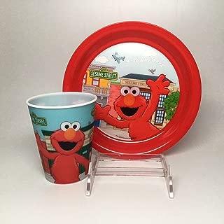 Elmo Plastic Plate & Cup Set