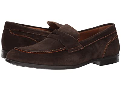 Bruno Magli Silas (Dark Brown Suede) Men