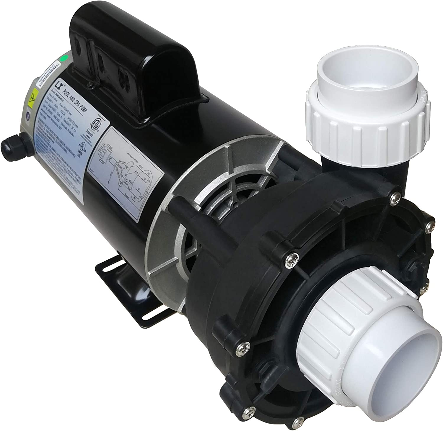 KL KEY LANDER Hot Tub Spa Pump LX 56Frame Two 4HP Speed Motor Fixed price for sale Financial sales sale