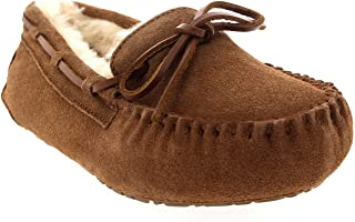 abe931a0b248a Amazon.fr : Cuir - Chaussons / Chaussures femme : Chaussures et Sacs