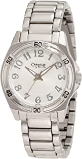 Caravelle by Bulova Women's 43L135 Silvertone Watch